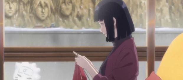 Hinata es la mejor madre de todo el anime.