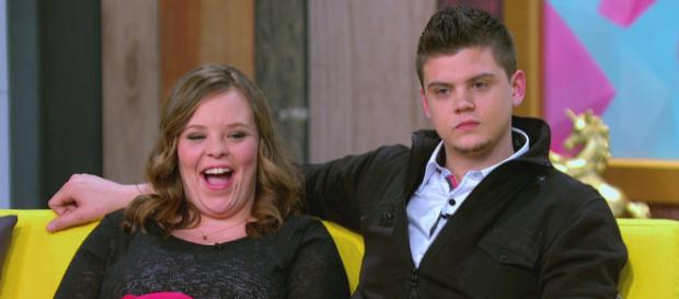 Is there trouble brewing for Tyler and Catelynn? [Image source: Teen Mom OG - Facebook]