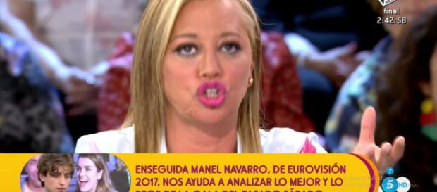 "La reacción de Belén Esteban a la ""puñalada"" de Jorge Javier Velásquez"