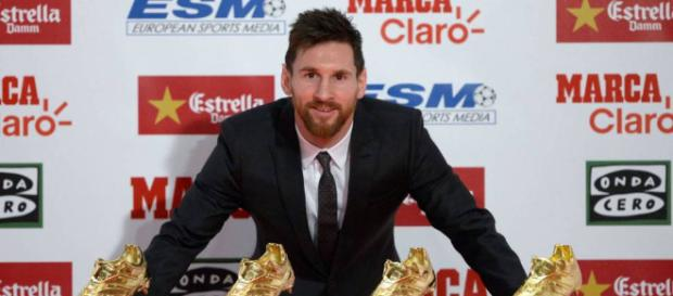 """Messi recibe la Bota de Oro 2017: """"Cada año disfruto más de ser ... - elpais.com"""