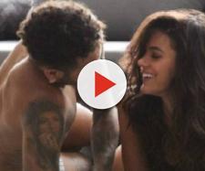 Bruna Marquezine e Neymar Jr em comercial milionário