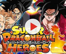 Portada del vídeo juego Dragon Ball Heroes