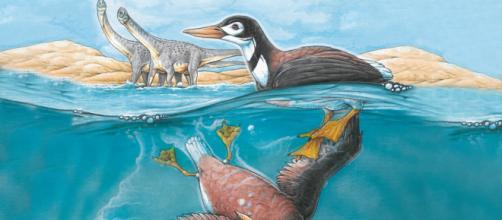 Al parecer las aves tienen una relación de parentesco con los dinosaurios. Public Domain.
