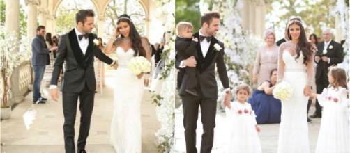 Cesc Fábregas y Daniella Semaan casaron tras 7 años de relación
