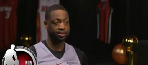 Dwyane Wade reacts to the Cavs Game 2 loss [YouTube capture]