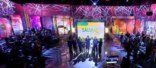 El plató de Sálvame en Telecinco.