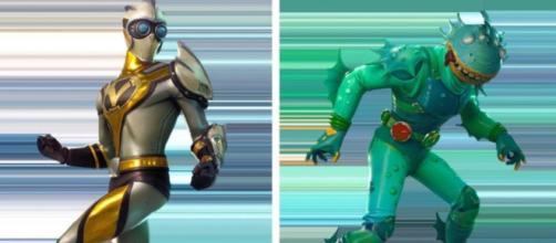 Fortnite: estos dos son héroes y / o villanos de la temporada 4.