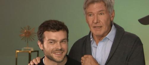 Harrison Ford Crashes Alden Ehrenreich's 'Solo' Interview: 'Get ... - toofab.com