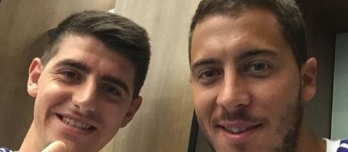Hazard y Courtois a un paso de llegar al Madrid
