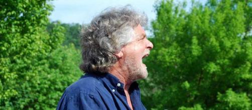 Il fondatore del Movimento5Stelle, Beppe Grillo