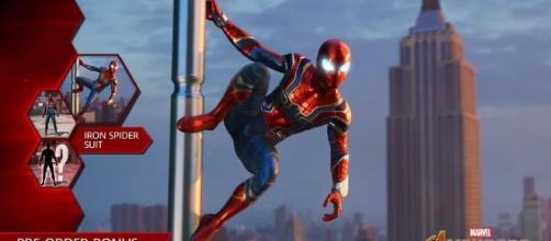 Iron-Spider llegará a Spider-Man de PS4