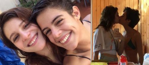 Lara e Bia mostram todo seu amor nas redes sociais.