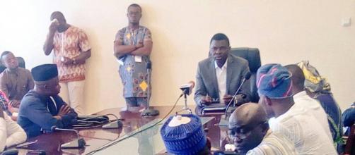 Le ministre Joseph DJOGBENOU à la rencontre avec les membres de l'UJMP