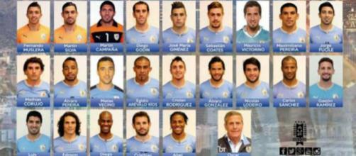 Suárez y Cavani lideran la lista de Uruguay para Rusia 2018