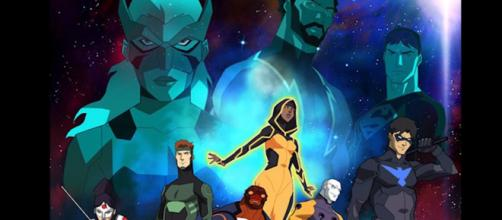 Young Justice Season 3 Characters Teaser and Cyborg Titans Breakdown [Image Credit: Emergency Awesome/YouTube screencap]