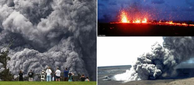 Alertă de COD ROȘU în Hawaii. Un vulcan este pe punctul de a erupe exploziv - Foto Daily Mail (© Getty Images, REUTERS, REX)