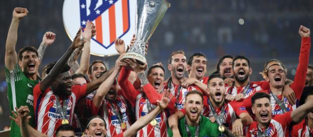 Atlético Madrid have won the 2018 Europa League. Image © Getty Images.