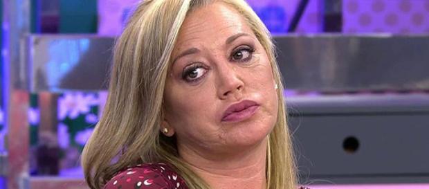 Belén Esteban, al borde de las lágrimas en 'Sálvame' - telecinco.es