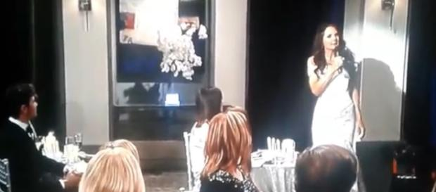 'General Hospital' Nurses Ball makes an interesting fashion statement - [Image via Melissa Sommer/YouTubeScreenshot]