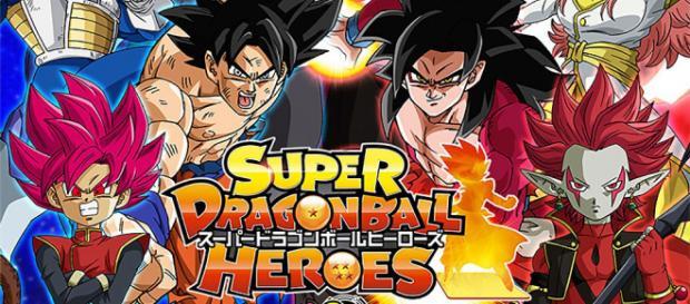 Portada del vídeo juego Dragon Ball Heroes