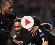 Celtic 0-5 PSG: Neymar, Kylian Mbappe and Edinson Cavani | Daily ... - dailymail.co.uk