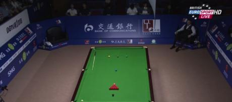 Screenshot from Shanghai Masters: The World Snooker tour is ever increasingly global: And it's not just China!