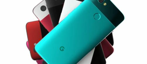Concepto de Google Pixel 3 Pixel 2 y Pixel 2 XL siguen siendo los mejores teléfonos inteligentes del mundo.