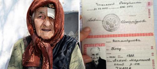 Documento de Koku Istambulova atesta que ela teria 128 anos de idade