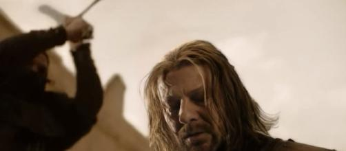 Game of Thrones: Ned's last words. Screencap: OwlWhite87 via YouTube