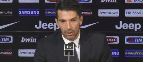 Gianluigi Buffon, portiere e capitano della Juve