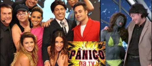 Humorístico Pânico nos tempos de Rede TV. (foto reprodução).