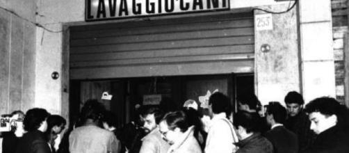 Il negozio di Er Canaro dove avvenne la vicenda che ha ispirato Dogman