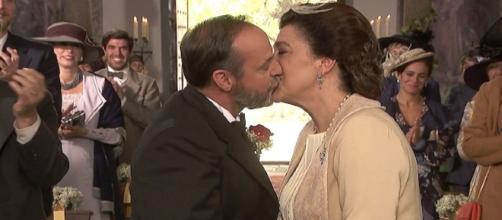 Il Segreto: le nozze di Francisca e Raimundo