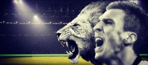 La Juventus e il leone Mario Mandzukic