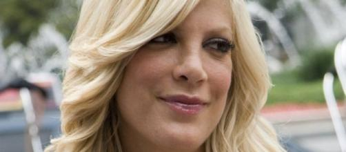 Tori Spelling reportedly left Dean McDermott, staying with Candy Spelling.[Image Credit: Flickr/NYCArthur]