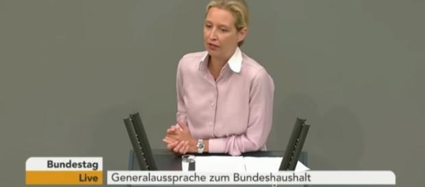 AfD-Fraktionsvorsitzende Alice Weidel, Rede im Bundestag 16.05.2018
