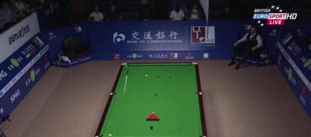 Amateurs currently competing to end up potentially playing at snooker venues like this one in Shanghai