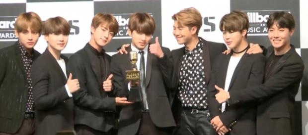 BTS BBMAs press conference -- Image Credit: TenAsia | Wikimedia Commons