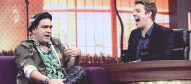 Evandro Santo em entrevista a Fábio Porchat