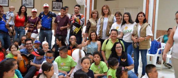 Luz Marina Cadena, comprometida con la vida de los niños de Sanar ... - gentedecanaveral.com