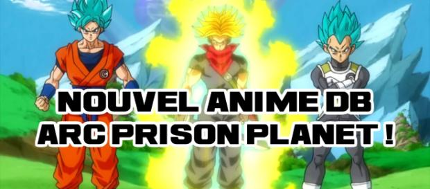 Nouvel Anime Dragon Ball (Super DB Heroes) Arc Prison Planet, Histoire