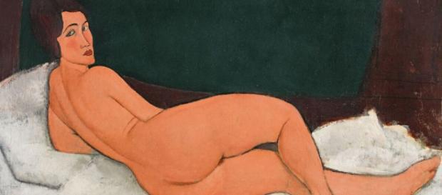 """""""Nu Couché (Sur Le Côté Gauche)"""", 1917"""