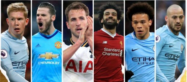 Premier League : les six nommés pour le titre du meilleur joueur - topmercato.com