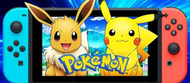 Registran las páginas web de Pokémon Let's Go Pikachu y Eevee para Switch