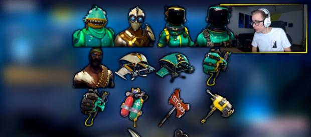 Upcoming cosmetics in 'Fortnite' - YouTube/DieBuddiesZocken