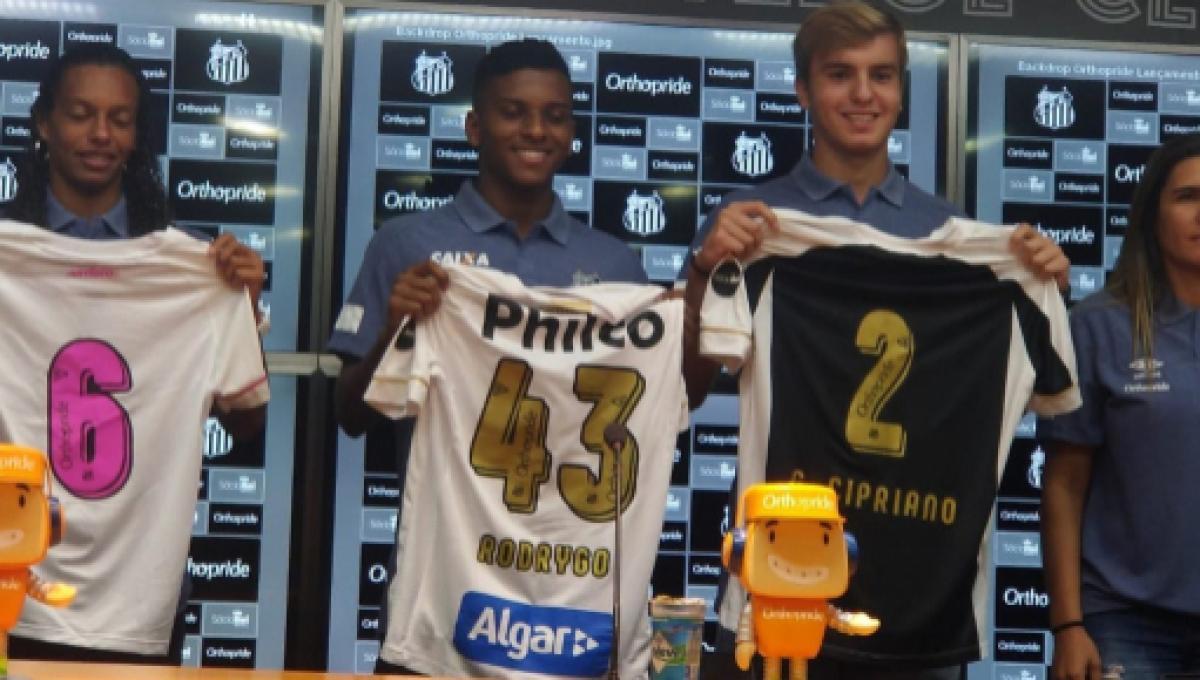 Tem mais patrocinador chegando no time do Santos adf567e9857e4