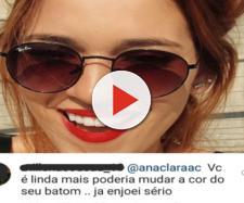 Ana Clara foi direta na resposta