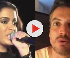 Anitta escracha Leo Dias após postagem no Stories do Instagram
