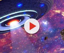 Astronomo fotografa un UFO mentre studiava le galassie.