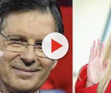 Fabrizio Frizzi: il ricordo di Michelle Hunziker ha creato delle polemiche